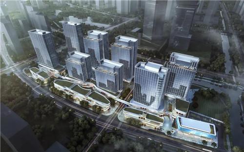 4月28日58集团华东区域总部项目吹响产业集结号