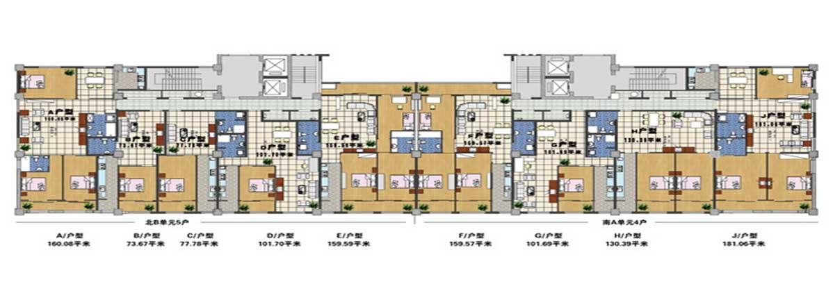 中关村兴业医药创业园6号楼平面图