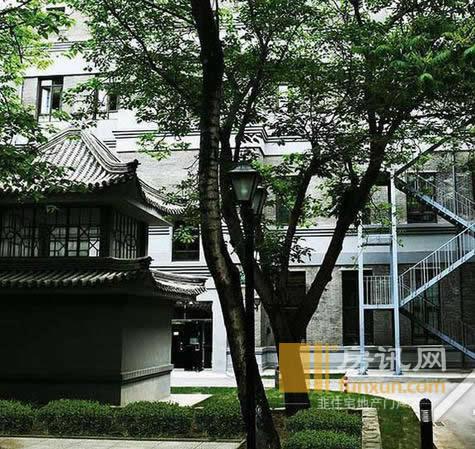 北京恒通商务园外观图