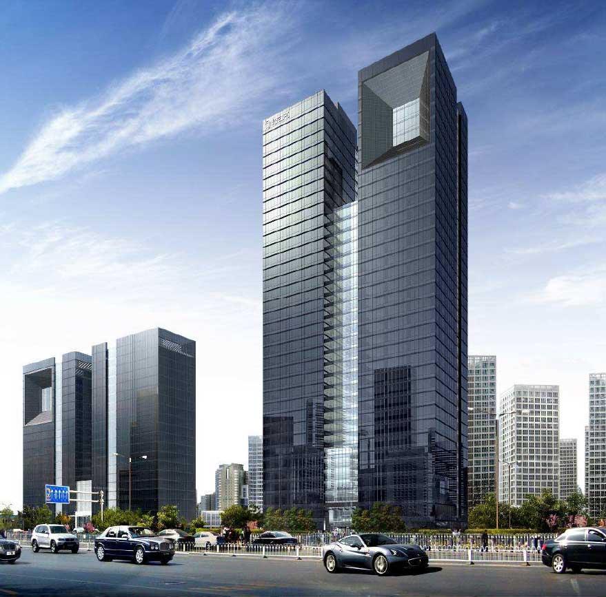 北京IFC外观图