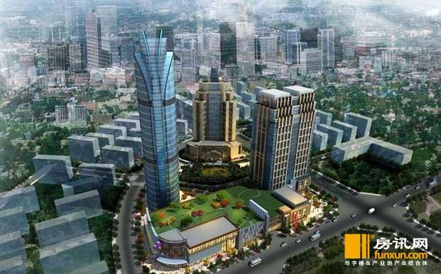 和信新城市中心位于成都新都区马超东路中央行政区(政务中心对面),建筑面积132123.8平米,占地面积23465.25平米。项目占据新城核心地段,紧邻新都中央政务区、高端住宅区,以20万的大体量,融汇5A甲级写字楼、5星级酒店、42F地标建筑及大型购物中心。50000购物中心囊括了世界500强家乐福、万达院线、浦发银行、KFC、屈臣氏等多个大型商家,为几十万的新都市民带来翘首可盼的繁华未来,而洲际集团旗下的假日酒店入驻,在带来国际著名酒店管理团队