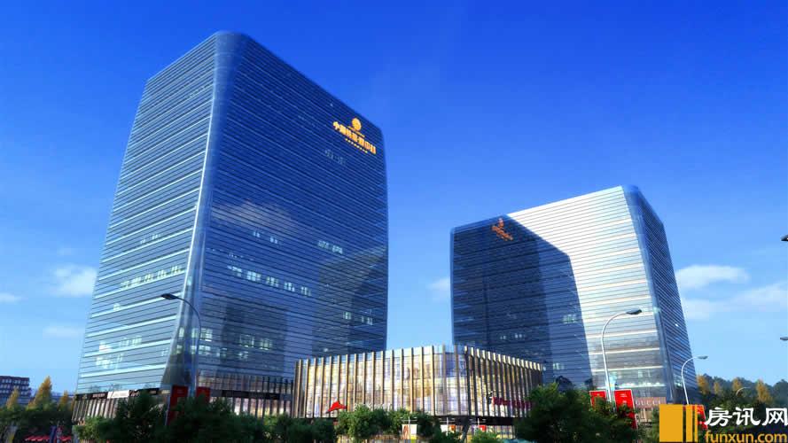 中国铁建・耀中心效果图