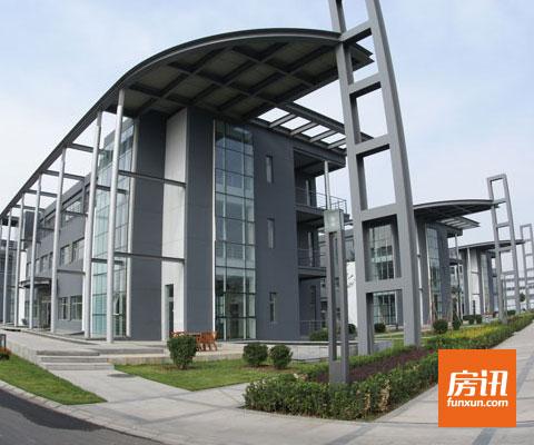 新型材料:嘉捷科技园以钢结构为主,钢筋混凝土结构为辅的建筑结构