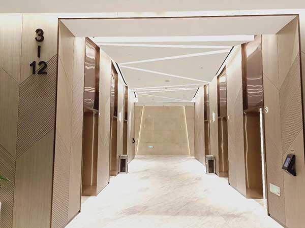远洋国际中心A座电梯
