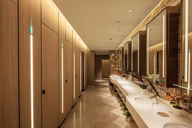 远洋国际中心A座洗手间