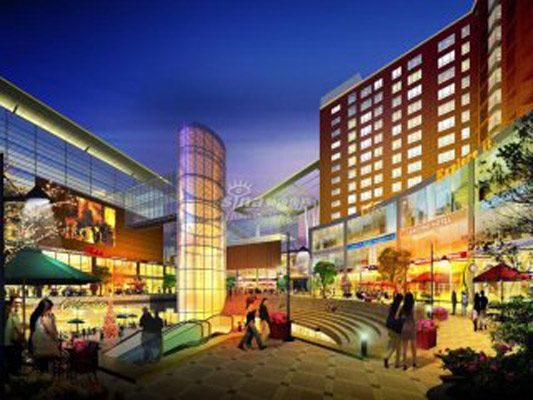 火神庙国际商业中心位于大兴区卫星城核心枢纽黄村,因项目西侧保留下的康熙时期的火神庙而得名,是集购物、娱乐、休闲、餐饮、公寓等于一体的京南最大商业MALL。该项目占地约5万平方米,商业总建筑面积近23万平方米(地上建筑面积:148744平方米,地下建筑面积:79339平方米),以围合式的建筑布局,形成了独具吸引力的商业氛围,不仅满足了周边的商业需求,更成为大京南区域的商业航母。