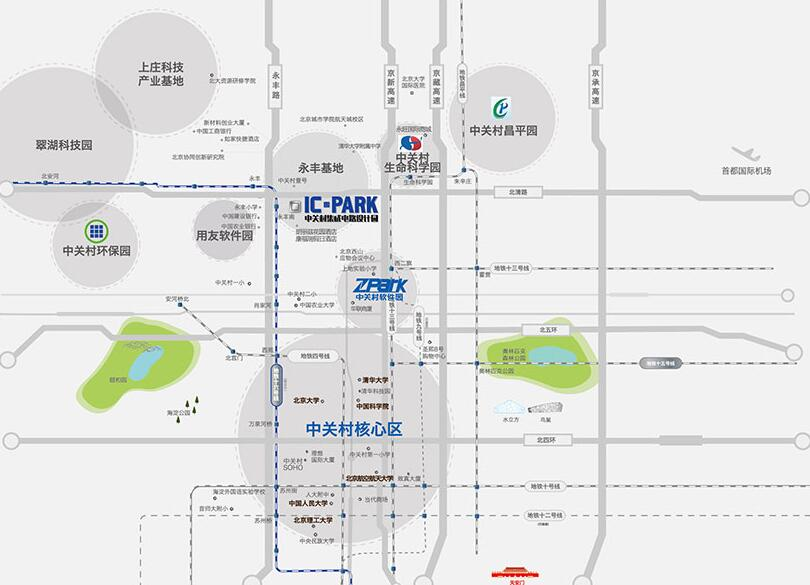 房讯推荐:中关村集成电路设计园 产业规划前景优越