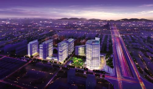 融科资讯中心_融科资讯中心B座获国际LEED绿色建筑铂金认证-房讯网