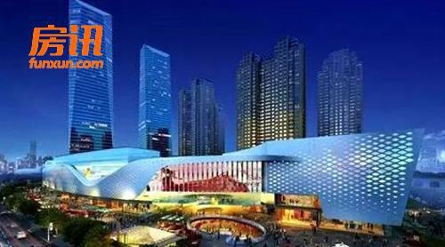 近两年新开业的万象城,凯德mall,利群金鼎广场,金狮广场等无不已经