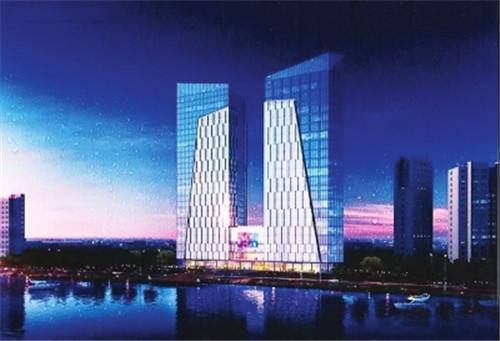 130米 天水将建酒店、写字楼与商业一体超高层建筑