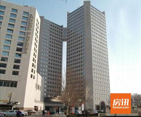 房讯推荐:亮马河大厦写字楼 国际化商务中心休闲区