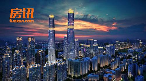 海南建四百米高双子塔 含酒店、写字楼、公寓等多功能一体
