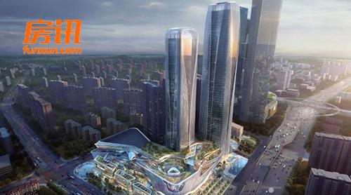 河西G11地块项目最新进展 南京世茂国际中心SCC备受期待