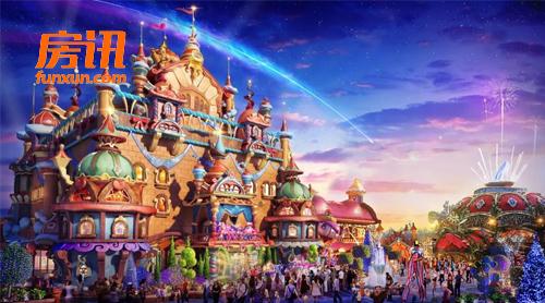 西安将新添一座世界顶级乐园 恒大童世界开工
