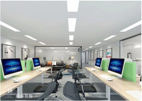 尚泰装饰:为生物科技公司打造专属办公室装修设计