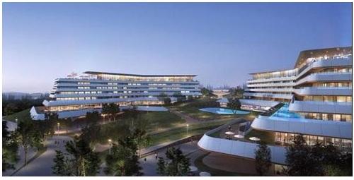 意向融创东海湾,打造丰富多彩的一线滨海生活,规划36000㎡国际星
