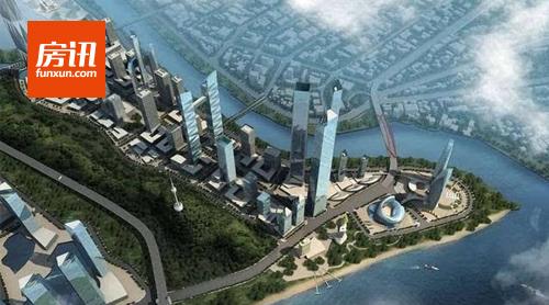 武汉汉正天街商住地今日出让 将建国际高端商务区