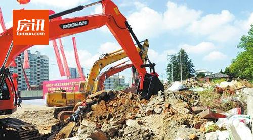 福州三江口将增多个商业综合体