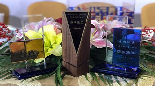 泰禾集团荣获2018中国地产年度影响力官微