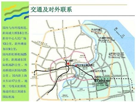 张江高科规划图