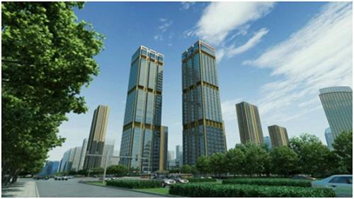 亦庄第一高度国锐广场:京城东商圈新引擎
