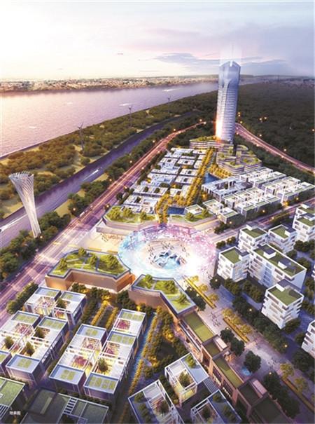 杭州湾生态智造新城亮相 打造世界级湾区产业新城