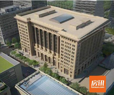 房讯推荐:金融街E9写字楼 采用无柱式空间设计