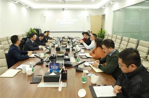 南京建邺区常务副区长龚成林一行到首创高科调研